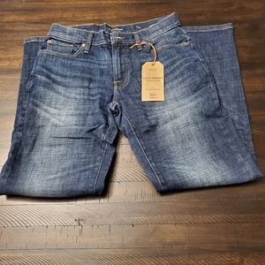 """Lucky Brand 221 Straight Fit Jean 30"""" Inseam"""